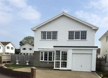 Thumbnail 3 bed detached house for sale in Gerretts Close, Bishopston, Swansea