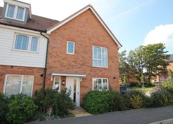 Thumbnail 3 bed end terrace house for sale in Longshore Drive, Shoreham-By-Sea, West Sussex