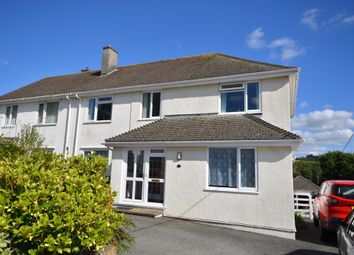 Thumbnail 4 bed semi-detached house for sale in Upland Close, Truro