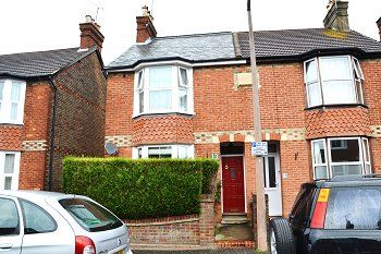 Thumbnail 3 bed semi-detached house to rent in Cambridge Road, Horsham, West Sussex