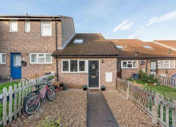Thumbnail 2 bed terraced house for sale in Meadows Leigh Close, Weybridge, Surrey