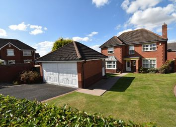 Thumbnail 4 bed detached house for sale in Meadow Dale Drive, Admaston, Telford