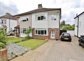 Thumbnail 3 bedroom semi-detached house for sale in Bassetts Way, Farnborough, Orpington