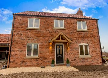 Thumbnail 4 bed detached house for sale in Leverton Road, Sturton-Le-Steeple, Retford