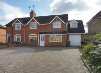 Thumbnail 4 bed semi-detached house for sale in East End, Langtoft, Peterborough