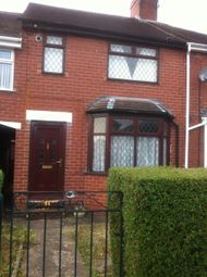 Thumbnail 2 bedroom town house to rent in Richards Avenue, Stoke-On-Trent