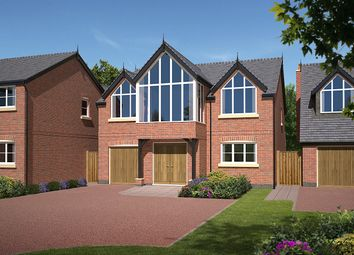Thumbnail 4 bed detached house for sale in Chester Road, Alpraham