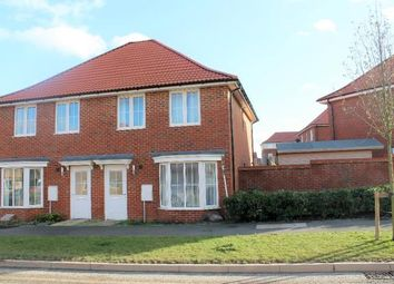 Thumbnail 3 bed semi-detached house for sale in Central Boulevard, Aylesham