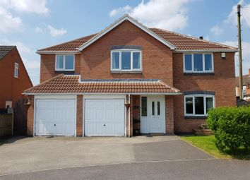 Thumbnail 5 bed detached house for sale in Beadmans Corner, Ravenstone, Leicestershire