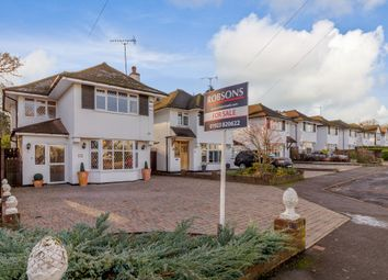 Thumbnail 3 bed detached house for sale in Hillcroft Crescent, Watford