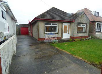 Thumbnail 3 bed detached bungalow for sale in Pen Y Banc, Brackla, Bridgend .