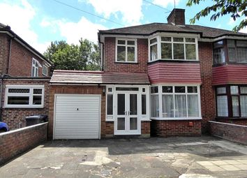 Thumbnail 3 bedroom semi-detached house for sale in Booth Road, Burnt Oak, London
