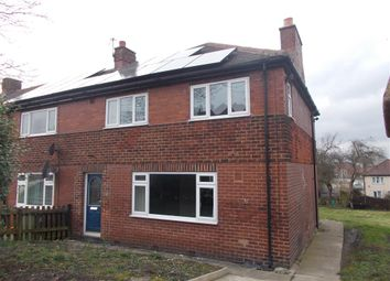 Thumbnail 4 bed semi-detached house for sale in Westwood Road, Castleford