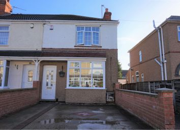 Thumbnail 3 bed end terrace house for sale in Elm Avenue, Grimsby