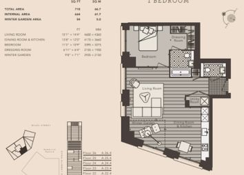 Thumbnail 1 bed flat for sale in South Lambeth Road, Nine Elms