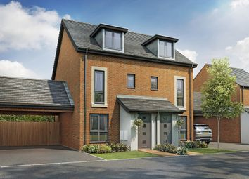 "Thumbnail 3 bed semi-detached house for sale in ""The Souter"" at Berrington Road, Off London Road, Hampton"