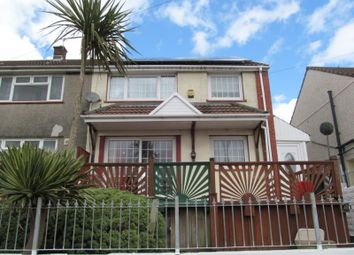 Thumbnail 3 bed semi-detached house for sale in Gilfach Goch, Gilfach Goch CF39, Gilfach Goch,