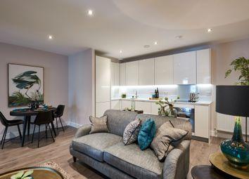 Thumbnail 2 bed flat for sale in Burdett Road, London