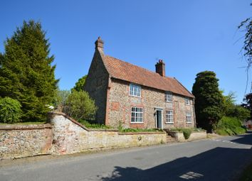 Thumbnail 2 bedroom detached house for sale in The Street, Great Snoring, Norfolk