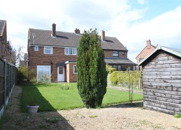 Thumbnail 3 bed semi-detached house for sale in Kings Road, Long Clawson, Melton Mowbray