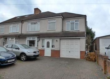 Thumbnail 5 bed semi-detached house for sale in Farnborough Avenue, South Croydon, Surrey