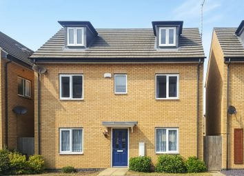 Thumbnail 4 bedroom detached house for sale in Woodward Drive, Gunthorpe, Peterborough