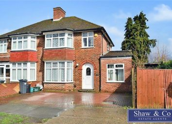 Thumbnail 5 bed semi-detached house for sale in Firs Drive, Hounslow, Middlesex