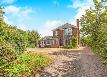Thumbnail 4 bed detached house for sale in Stretham Road, Wicken, Ely