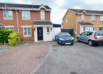 Thumbnail 3 bed semi-detached house for sale in Newsham Road, Stockport