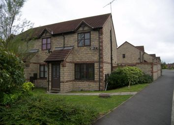 Thumbnail 2 bed end terrace house to rent in Overmoor View, Tibshelf, Alfreton, Derbyshire
