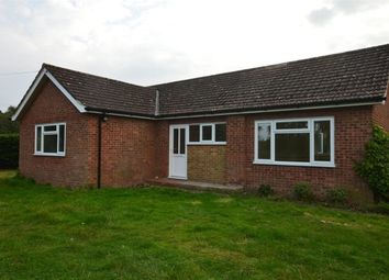 Thumbnail 3 bed bungalow to rent in Silfield Road, Silfield, Wymondham