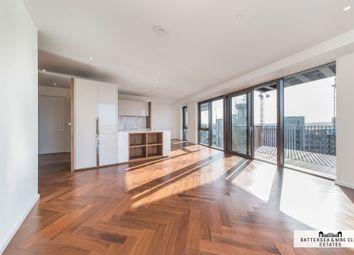 Thumbnail 3 bed flat to rent in New Union Square, London