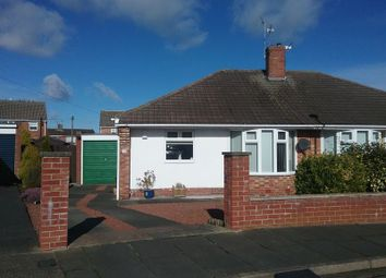 Thumbnail 2 bed semi-detached bungalow for sale in Clifton Close, Choppington