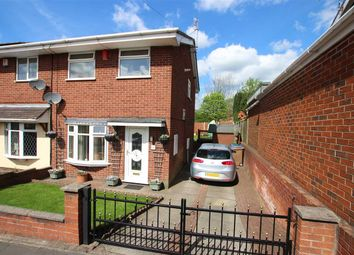 Thumbnail 3 bedroom semi-detached house for sale in Worth Close, Meir Hay, Stoke-On-Trent
