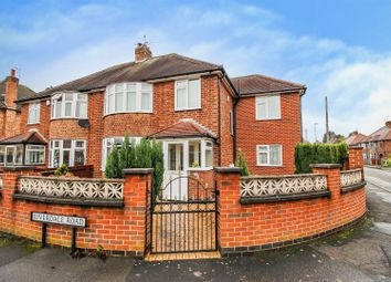 Thumbnail 4 bed semi-detached house for sale in Riverdale Road, Attenborough, Nottingham
