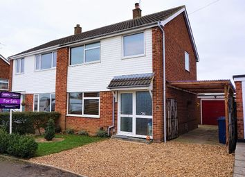 Thumbnail 3 bedroom semi-detached house for sale in Tennyson Avenue, St. Ives