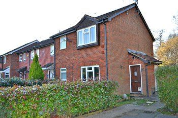 Thumbnail 1 bed end terrace house to rent in St Brelades Road, Cottesmore Green, Crawley, West Sussex