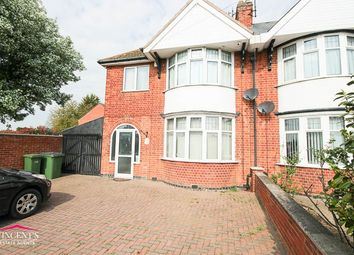 Thumbnail 3 bed semi-detached house to rent in Narborough Road South, Leicester