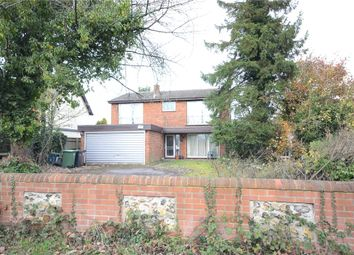 Thumbnail 4 bed detached house for sale in Wood Lane, Gallowstree Common, Reading