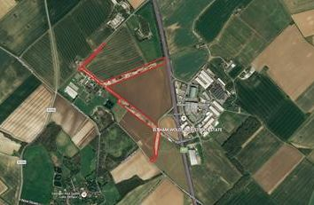 Thumbnail Land for sale in Elsham Airfield, Middlegate Lane, Elsham Wolds, Brigg, North Lincolnshire