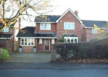 Thumbnail 5 bed detached house to rent in Rushgreen Road, Lymm