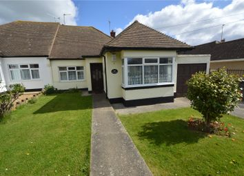 Thumbnail 2 bedroom semi-detached bungalow for sale in Petworth Gardens, Thorpe Bay, Southend On Sea, Essex