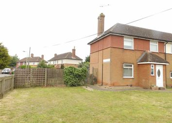 Thumbnail 2 bedroom semi-detached house for sale in Leighton Road, Ipswich, Suffolk
