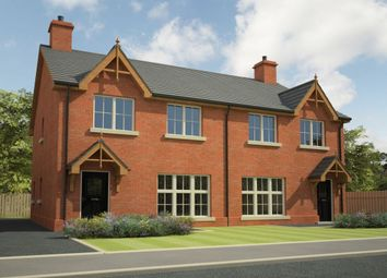 Thumbnail 3 bed semi-detached house for sale in Hunter's Chase, Ballinderry Lower, Lisburn