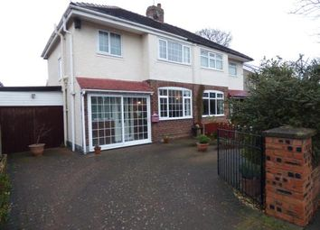 Thumbnail 3 bed semi-detached house for sale in Orchard Road, Whitby, Ellesmere Port, Cheshire