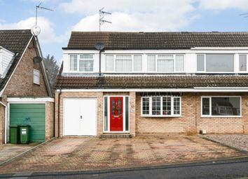 Thumbnail 3 bed semi-detached house for sale in Coltbeck Avenue, Leicester, Leicestershire