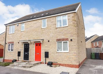 Thumbnail 3 bed semi-detached house for sale in Pinewood Crescent, Lincoln