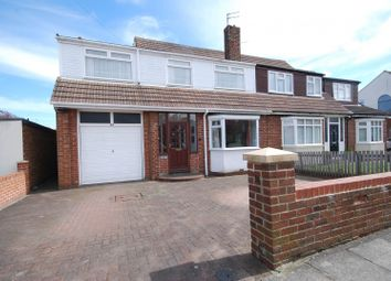 Thumbnail 5 bed semi-detached house for sale in Ravensbourne Avenue, East Boldon