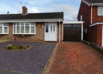Thumbnail 2 bed semi-detached bungalow to rent in Millfields Road, Wellington, Telford