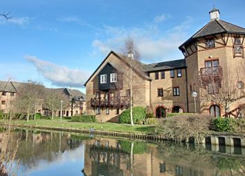 Thumbnail 2 bedroom flat to rent in Lawrence Moorings, Sawbridgeworth, Herts